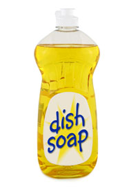 Dishwashing liquid clipart.