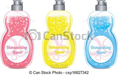 Dishwashing liquid Vector Clipart EPS Images. 317 Dishwashing.