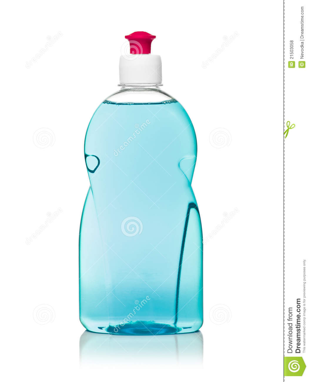 Dishwashing Liquid Royalty Free Stock Photos.