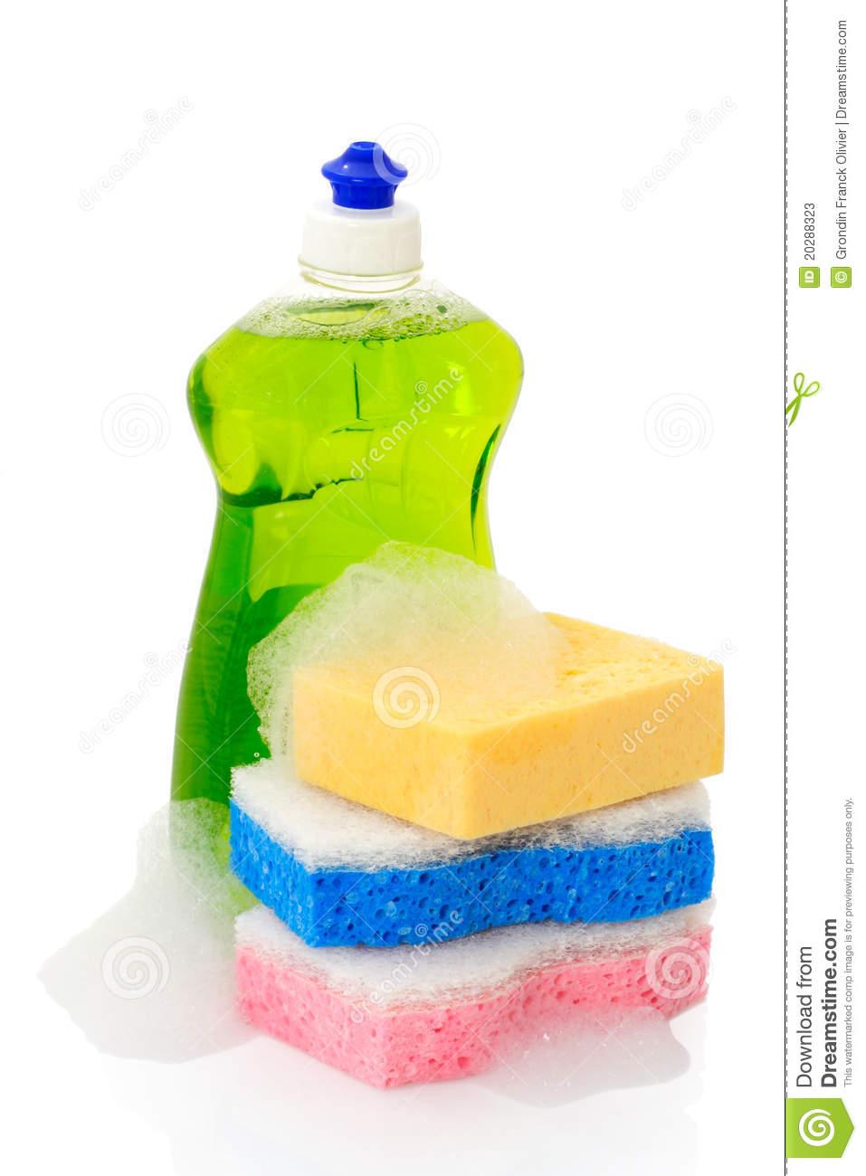 Liquid Soap Clip Art Dish Soap And Sponges #MkaugV.