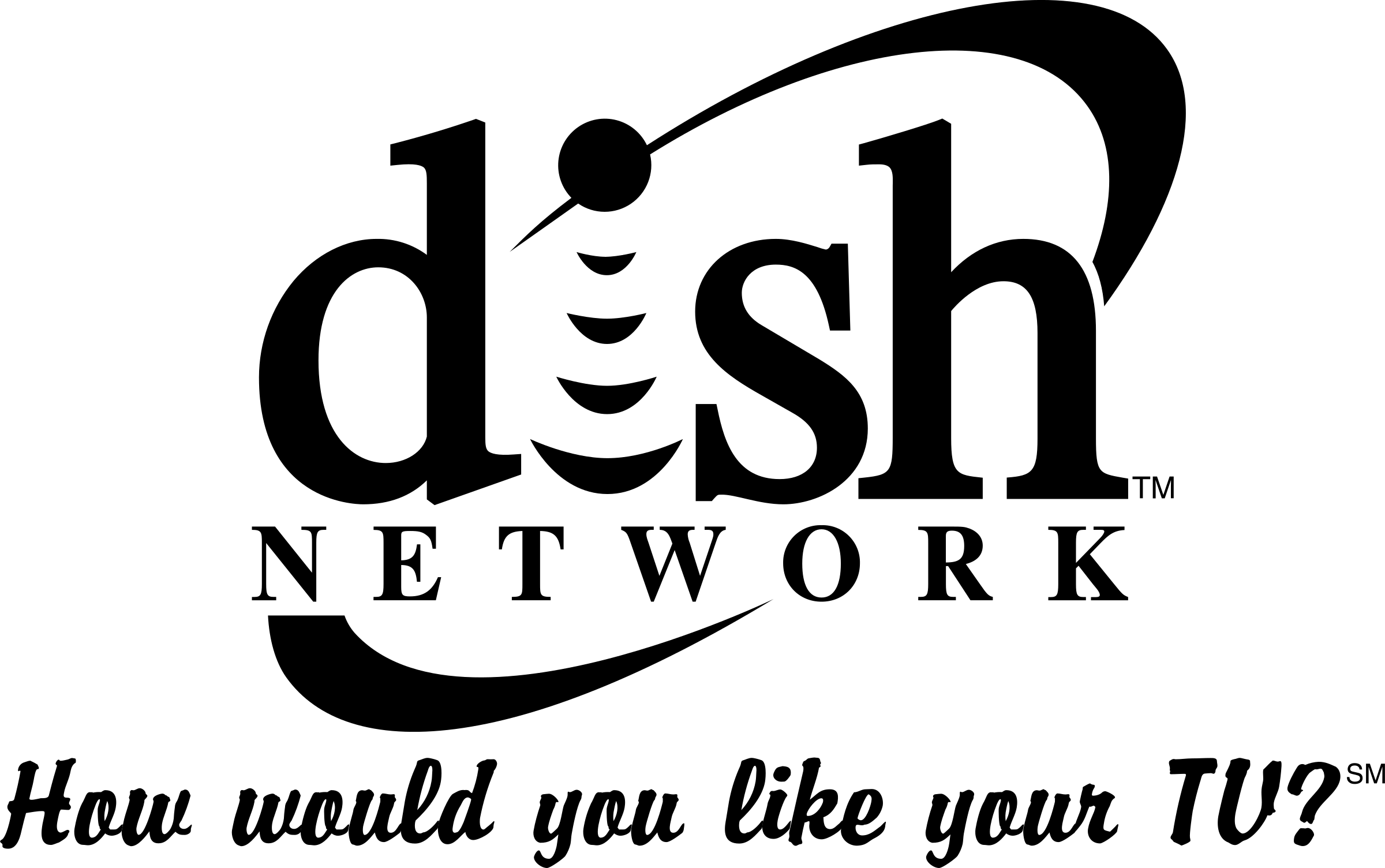 HD Dish Network Logo Png.
