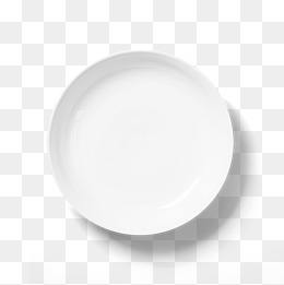 White Plate PNG Images.