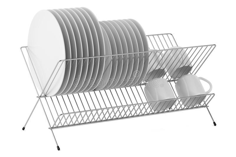 Plate Rack Stock Illustrations.