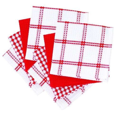 8pk Flat Waffle Kitchen Dish Cloth (12\