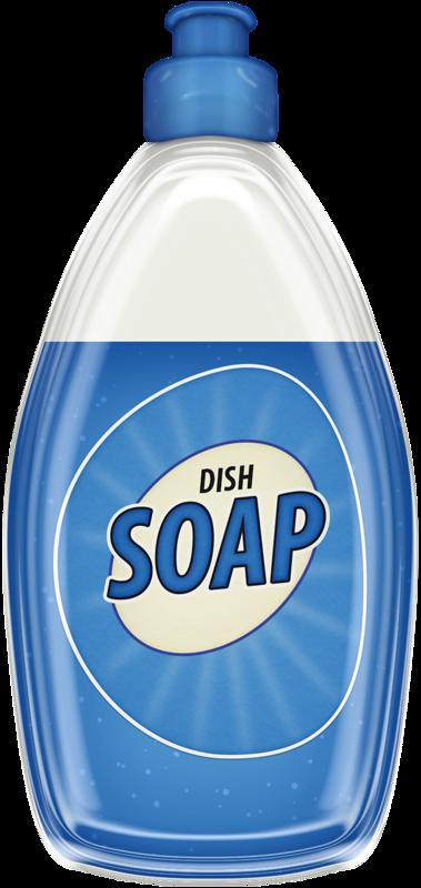 DISH SOAP.