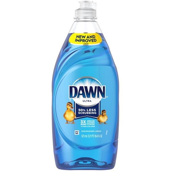 Dawn Ultra Dishwashing Liquid Dish Soap, Original Scent (19.4 fl oz.