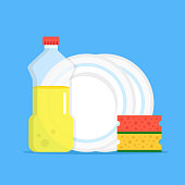 Free Dish Detergent Clipart and Vector Graphics.