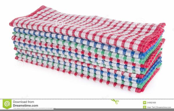 Tea Towel Clipart.