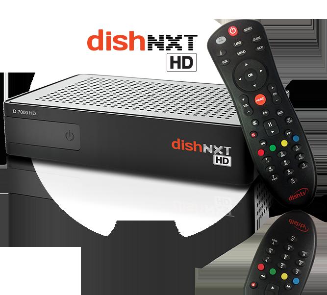 DISHTV NXT HD Premium plus Set.