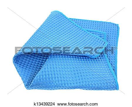 Stock Photo of Microfiber Dish Cloth k13439224.