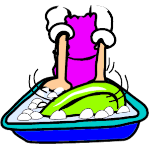 Dishes Clipart.