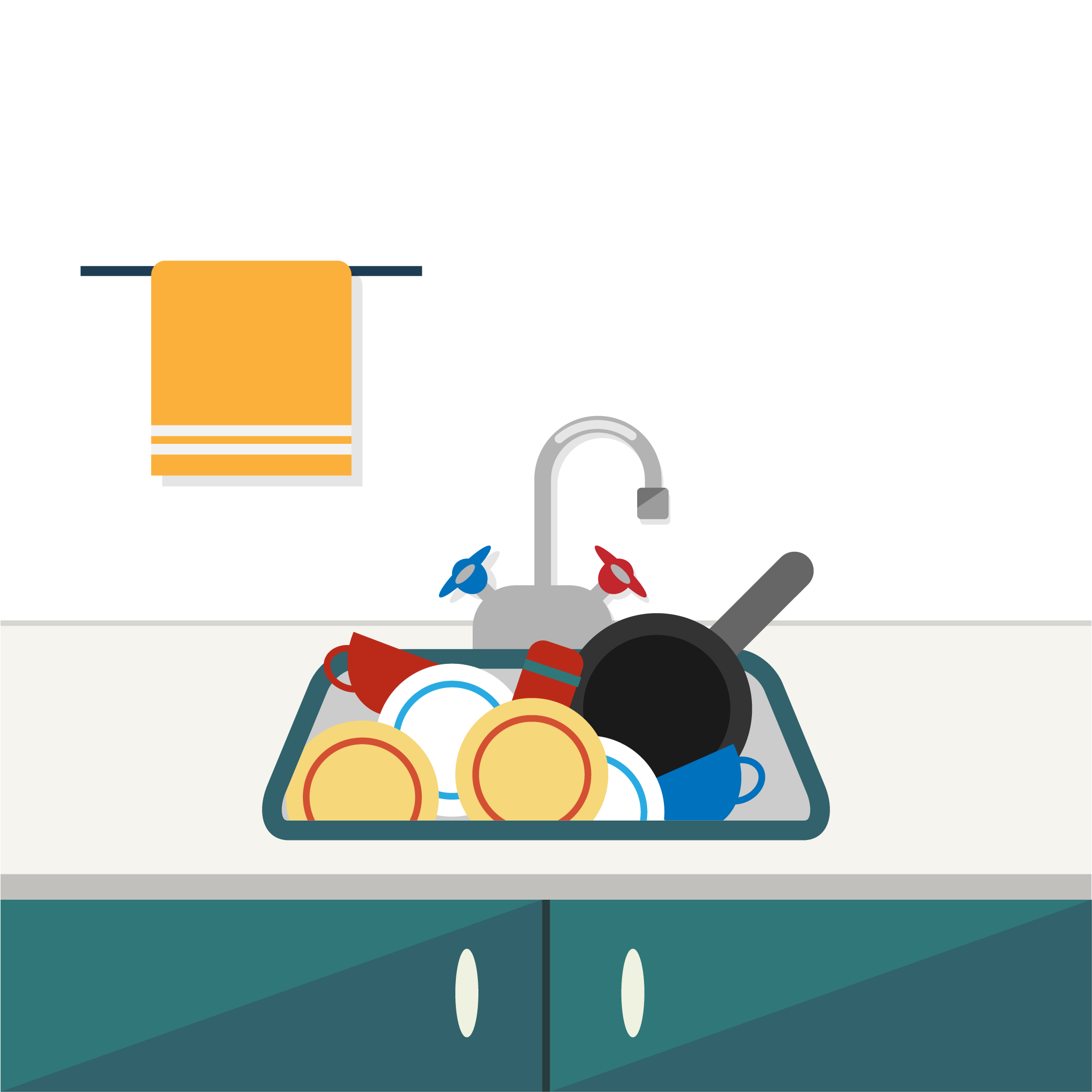 Dishes clipart sink drawing, Dishes sink drawing Transparent.