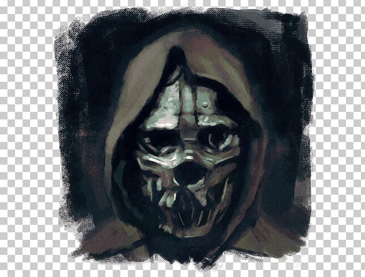 Dishonored 2 Corvo Attano Mask Drawing PNG, Clipart, Art.