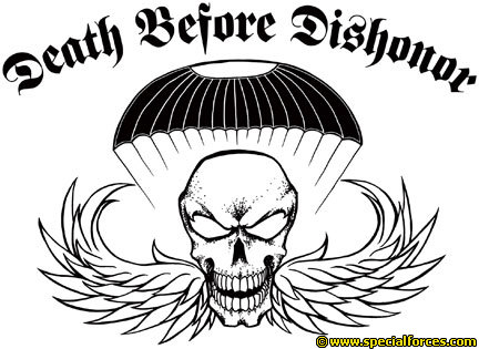 Death before dishonor clipart.