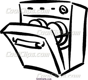 Collection of Dishwasher clipart.