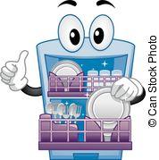 Dishwasher Vector Clipart EPS Images. 1,258 Dishwasher clip art.