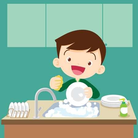 3,259 Dish Washing Cliparts, Stock Vector And Royalty Free Dish.