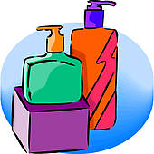 Soap and detergent clipart.