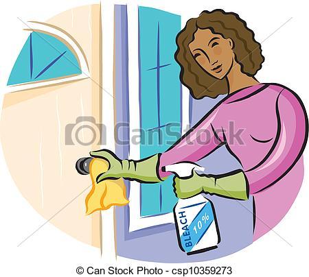 bleach disinfectant spray.
