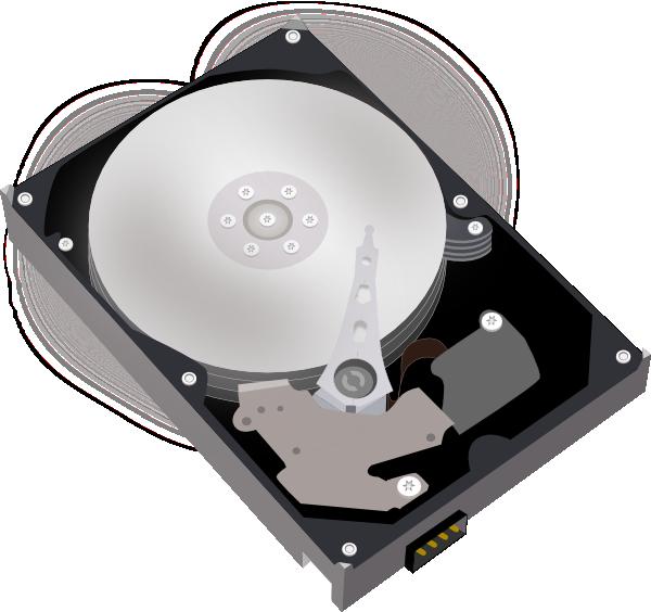Hard Disk Drive Clipart.