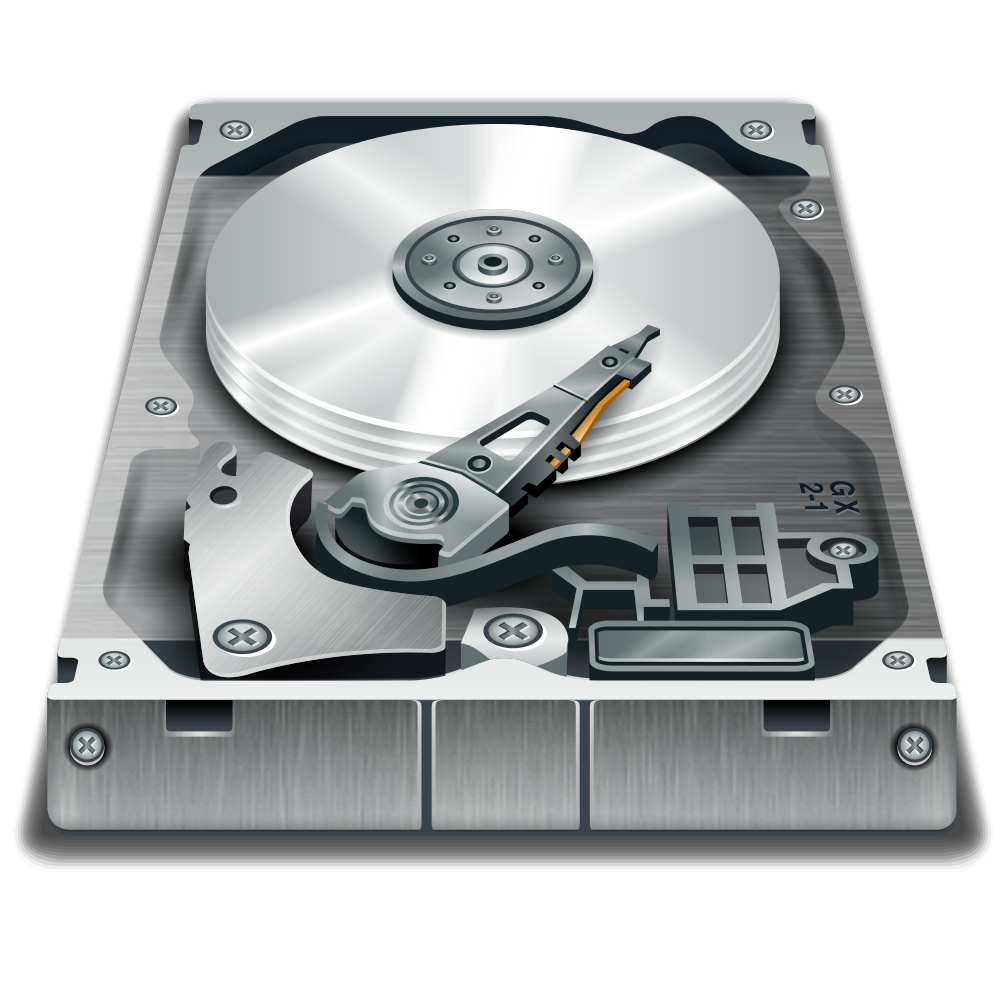 Hard disk drive clipart.