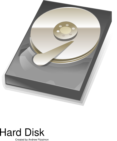 Disk Drive Clipart.