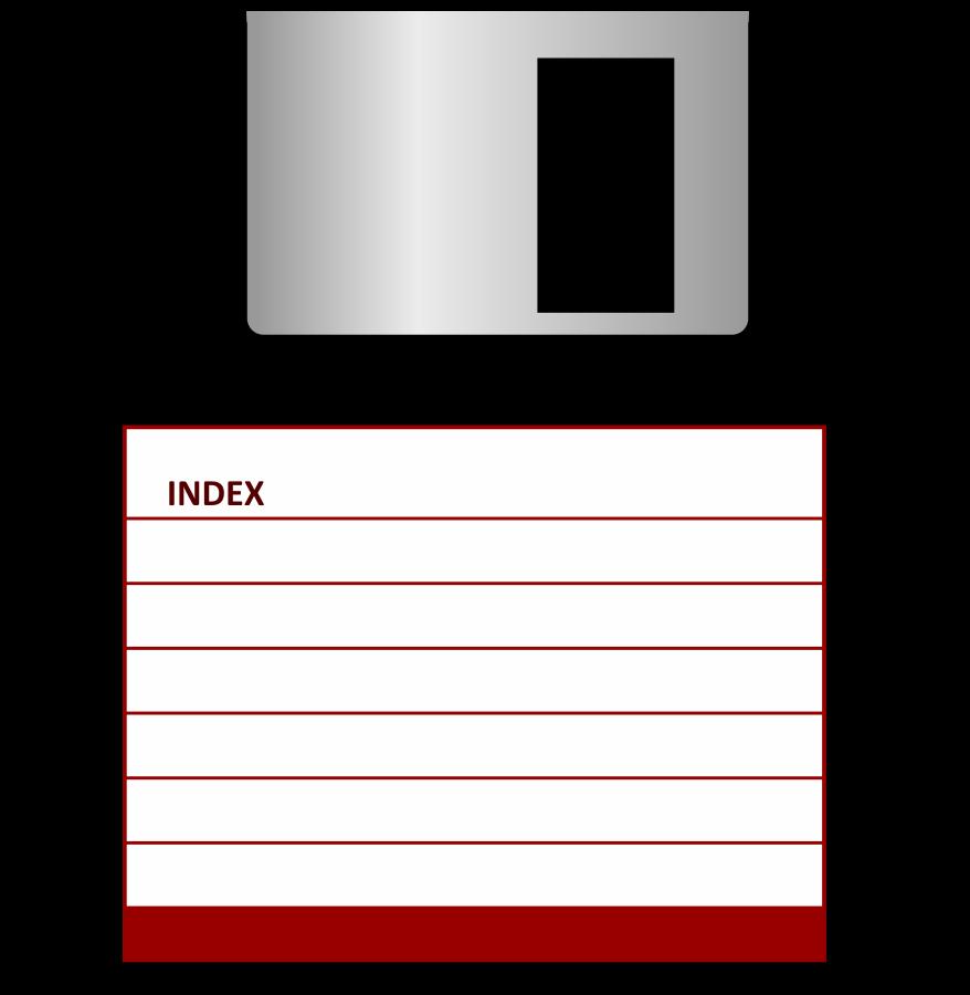 Floppy disk SVG Vector file, vector clip art svg file.