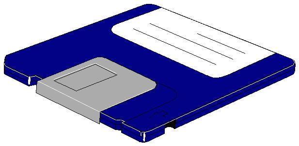 Diskette Clip Art.