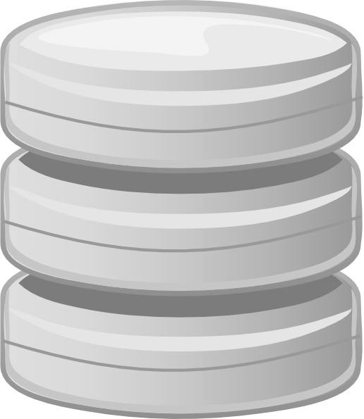 Database Disk Storage Clip Art at Clker.com.