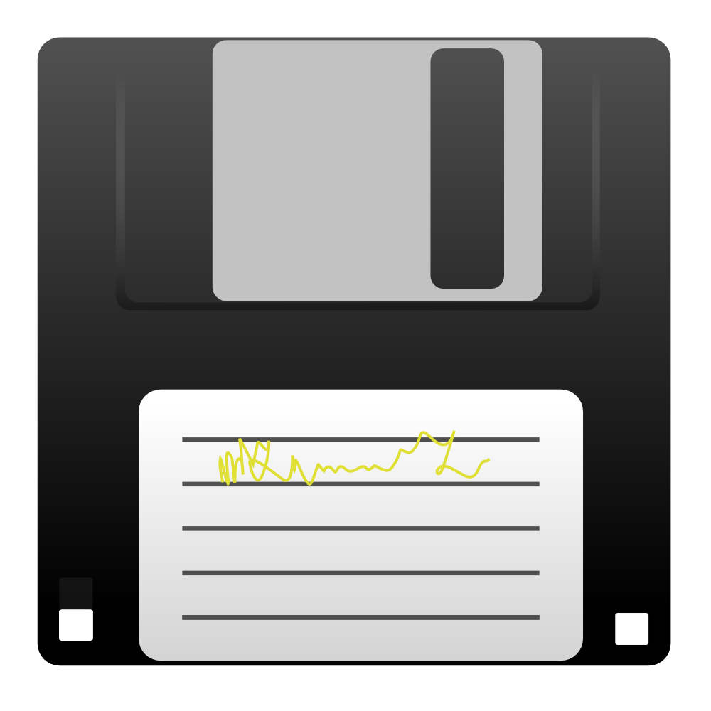 Floppy Disk Clipart.