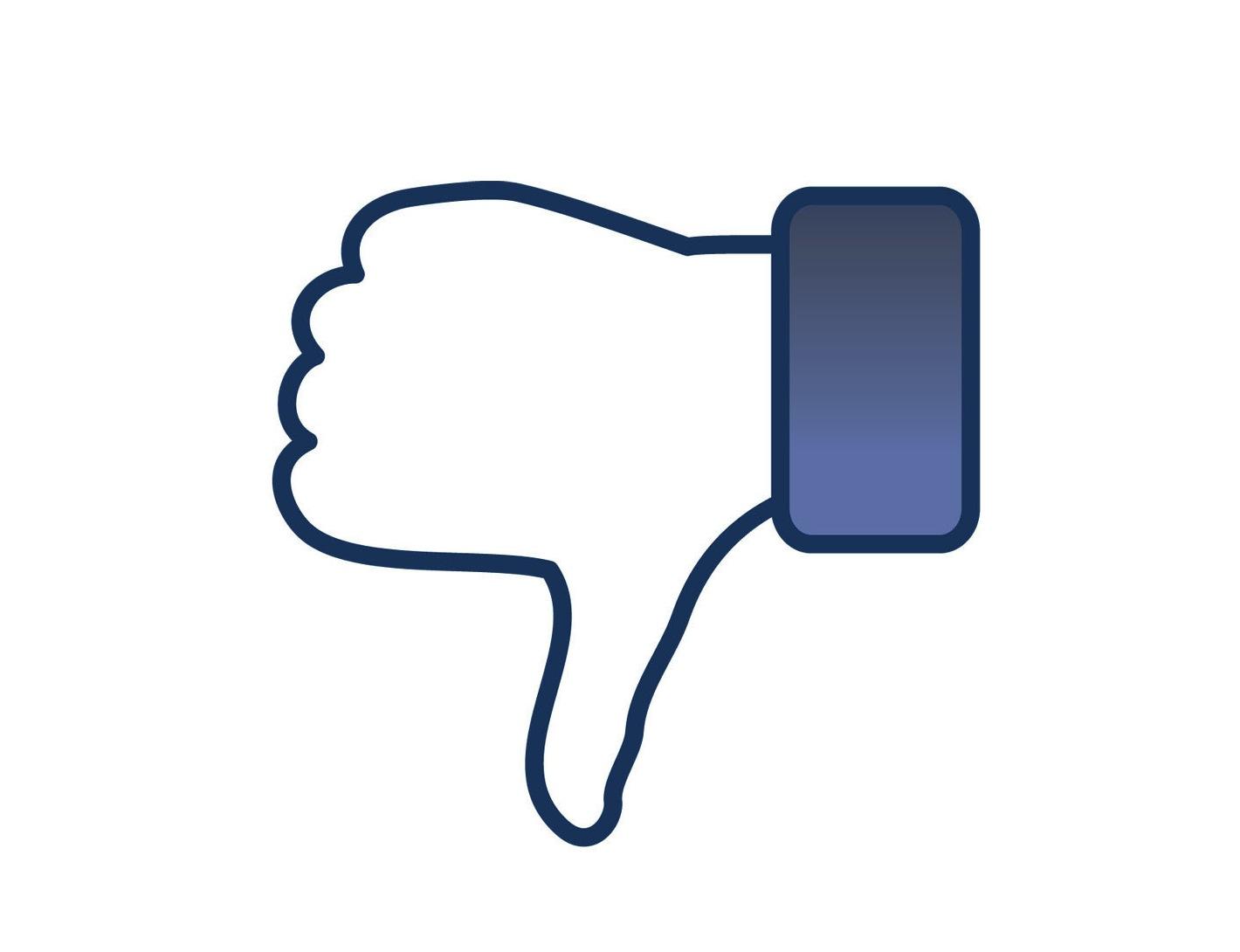 Facebook Dislike Clipart.