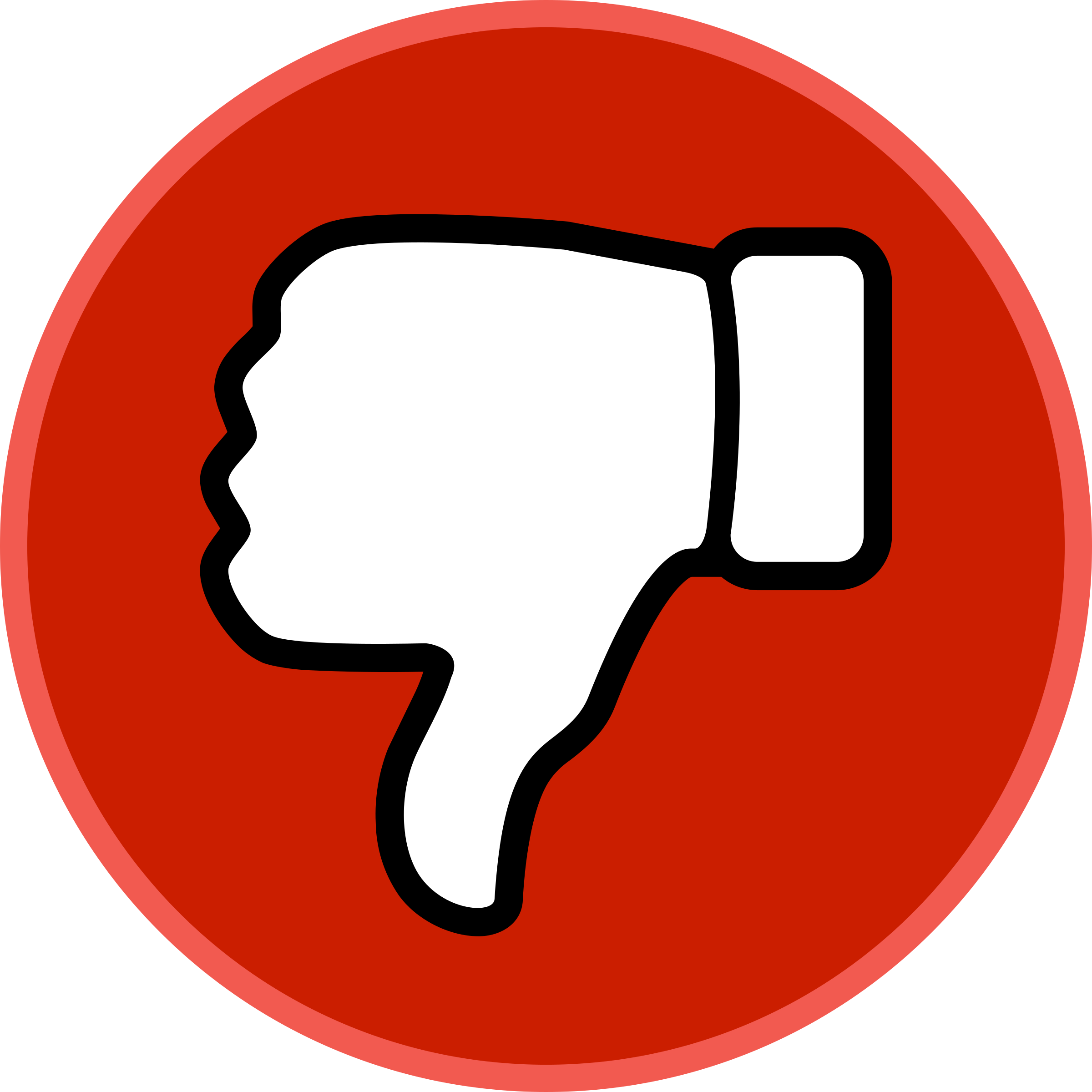 Youtube Dislike Vector Png #45966.