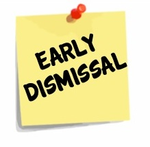 Early Dismissal From School Clipart.