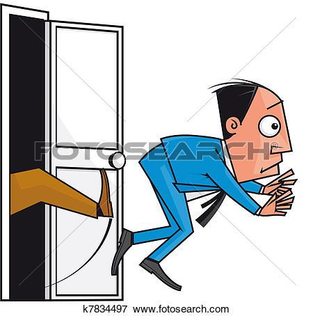 Stock Illustration of Dismissal k7834497.