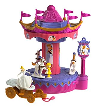 Amazon.com: Disney Theme Park Cinderella's Golden Carousel: Toys.