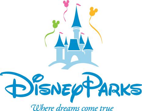 4 park disney logo clipart.