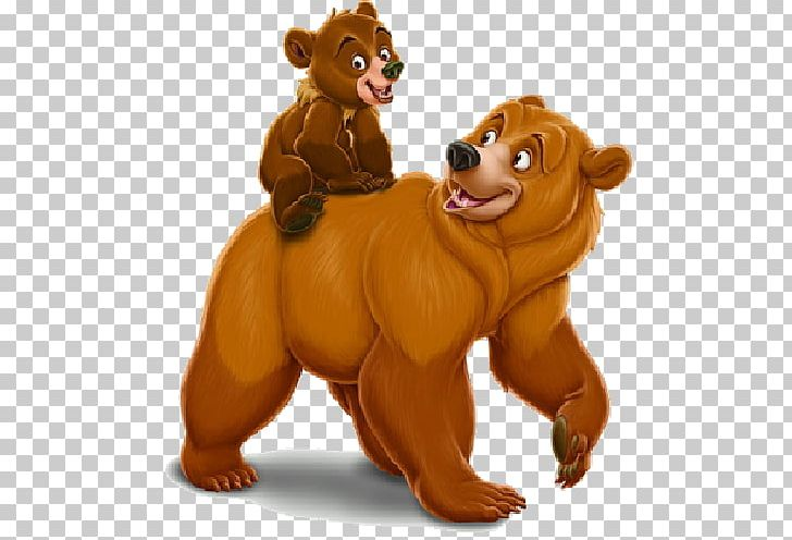 Brown Bear Cartoon The Walt Disney Company PNG, Clipart.