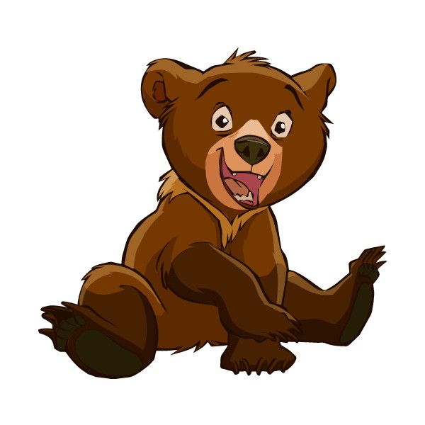 Brother Bear Clipart ❤ liked on Polyvore featuring disney.