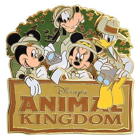 Disney Animal Kingdom Pin.