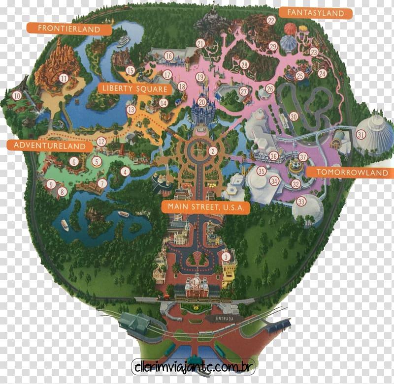 Magic Kingdom Disney\'s Animal Kingdom Disneyland Paris Map Travel.