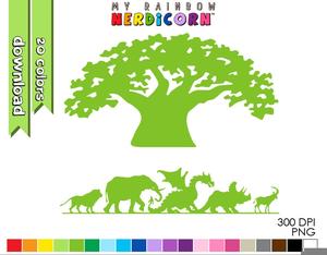 Disney Animal Kingdom Clipart.