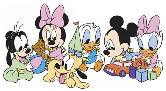 Dibujos Walt Disney Bebes: Disney Baby Clipart