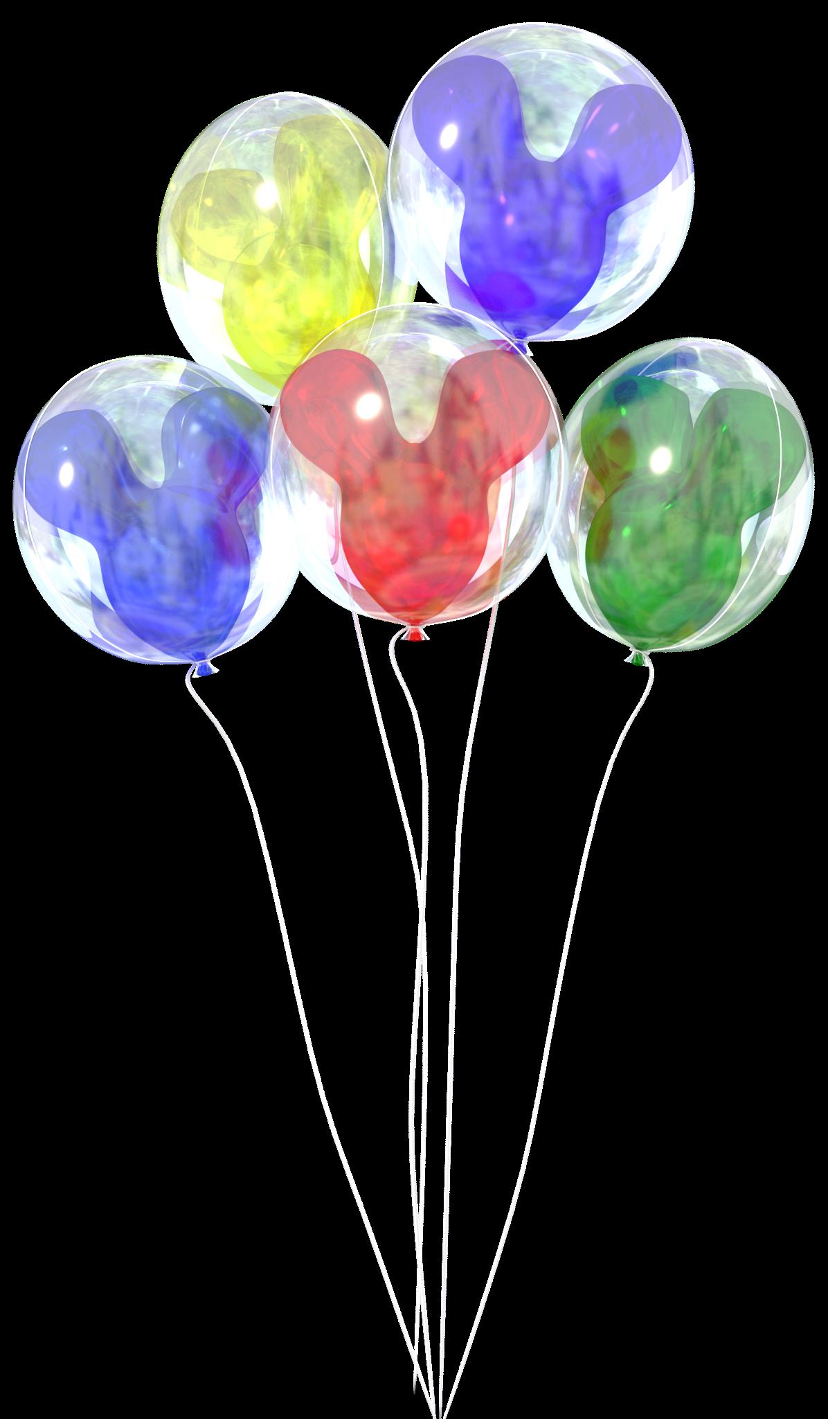Walt Disney World Balloons Png & Free Walt Disney World Balloons.png.