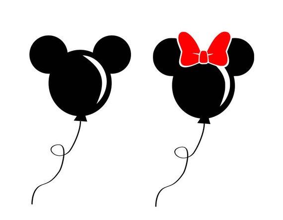 Disney svg, disney balloon svg, mickey balloon svg, mickey.