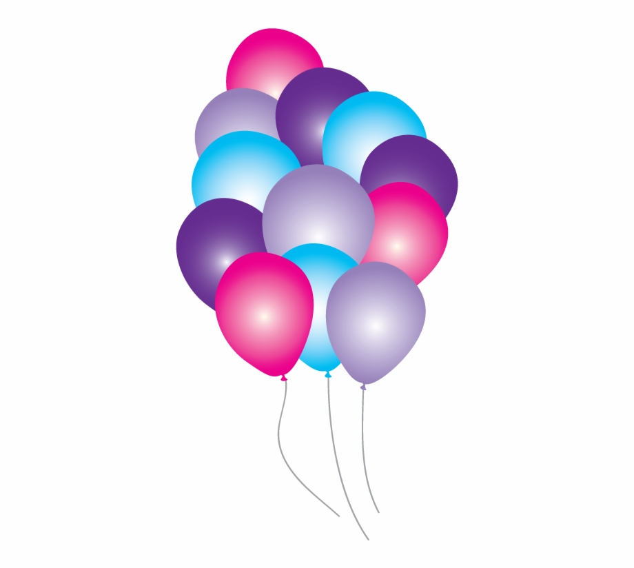 Disney Balloons Party Pack Just For Kids Pink.