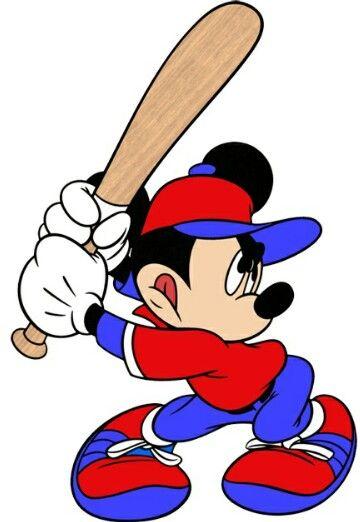 Baseball Mickey.