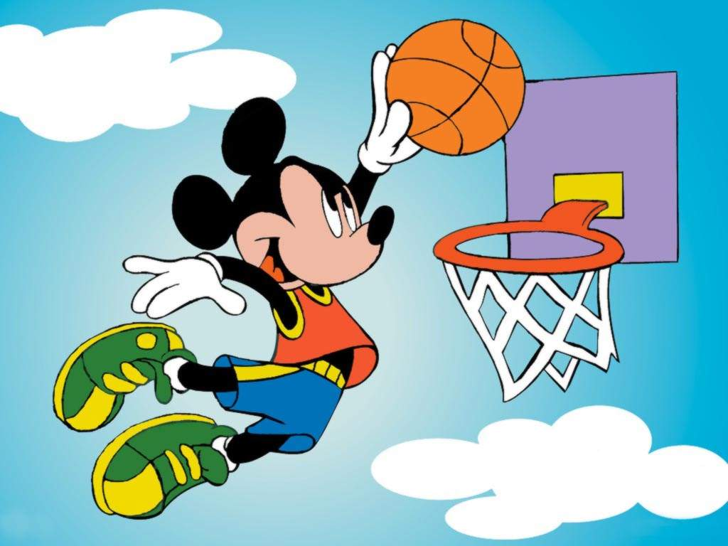 Showing post & media for Mice playing basketball cartoon.