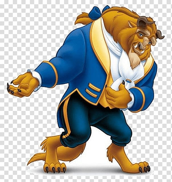 Disney\'s Beast illustration, The Beast transparent.