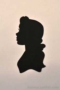 Silhouetted Rose Art Print.