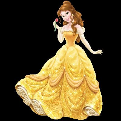 Image of Disney Princess Clipart Princess Belle Cartoon.